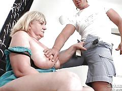 blonde, big tits, mature, blowjob, cougar, big dick, couch sex, bbw, boobs groping, doghouse digital, anabel xx