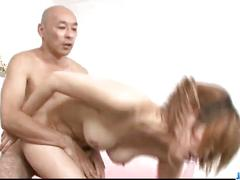 Moe aizawa screams with a big cock up her warm pussy