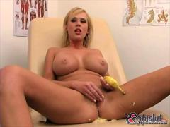 Carly parker has never seen a sex toy too big