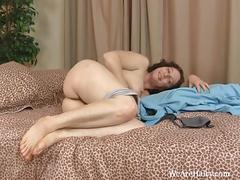 brunette, masturbation, brunettes, hairy, legs, armpits, curvaceous, toy, insertions, lingerie