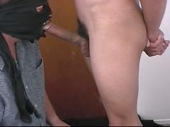 Young latino twink blows a cock hard