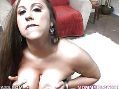 milf,big tits,long hair,blowjob,brunette,titjob,pov,alisandra monroe,mommy blows best,myxxxpass, blazing bucks