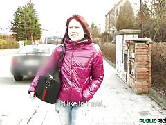 teen,cute,public nudity,redhead,czech,outdoors,shy teen,lucie,public pickups,mofos cash