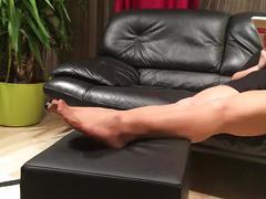 milf, mature, domination, fetish, mom, nylon, pantyhose, female, foot, stocking, feet, femdom, stepmom, footplay, feetplay