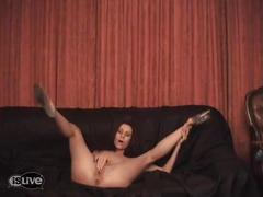 Ondeugende striptease