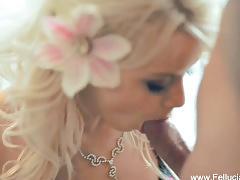 The erotic flower girl