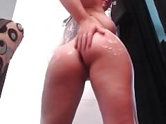 Casey cumz lotion webcam fun