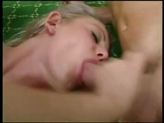 Amateur blonde and horny sluts share a cock