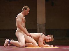 anal, wrestling, cumshot, gays, from behind, jerking off, naked kombat, kink men, john smith, logan vaughn