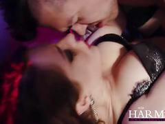 Harmonyvision samantha and ava perform an erotic dance with happy ending