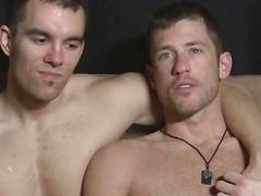 Jerkingoff off with this amazing hardcore gay sex video