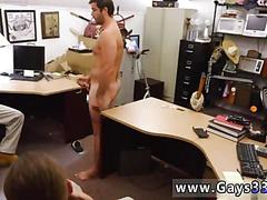 He whips his cock out and starts jerking his wiener