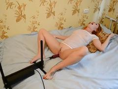 Orgasms from sex machine