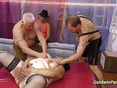 tits, anal, masturbation, toys, fat, dildo, chubby, bbw, boobs, chunky, plumper, masturbating, oiled