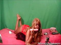 Dirty talking lingerie webcam toy show-nilou achtland