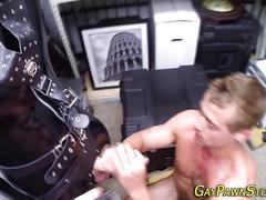 Fetish amateur blows rods