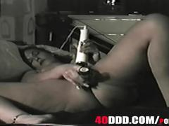 Big ass tits,big booty milf starts shaving her hairy pussy with big clit