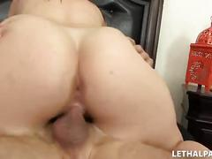 Busty 18 year old - porn audition