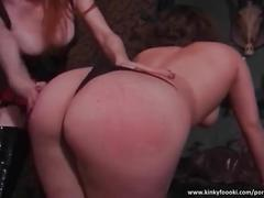 Bootylicious whore spanked hard