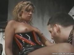 bondage, fetish, toys, milf, ripekink, bdsm, fem-dom, blonde, kink, natural-tits, strap-on, femdom, humiliation, dildo-suck, tied, bound, whipping