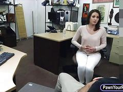 Customers wife wrecked by nasty pawn guy at the pawnshop
