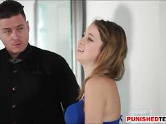 Three pervert guys fucked slut kinsley eden one by one