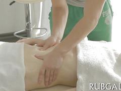 Hot sex instead of gentle massage movie