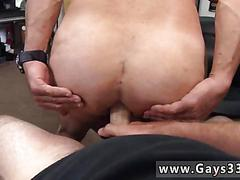 Sexy ass biker gets boned in a pawn shop for money