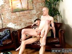 Skinny twink gets his ass nailed from the rear