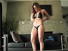 Stepson has frisky massage with jaclyn taylor