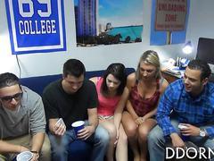 amateur, college, party, blowjob, public, reality