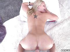Dakota james smashed in her tight pink pussy