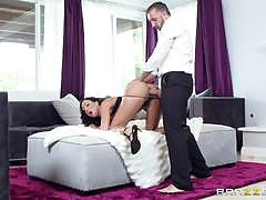 A knock at the door means hot sex for tiffany brookes