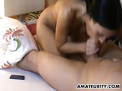 Amateur babe gets her ass crammed with cock