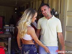 keiran lee, emily austin, blowjob, riding, fucked, suck, facial, blonde, horny, fucked hard, deep, cute, rider, funny, garage, ride, sucking, blond, sucks, blondie