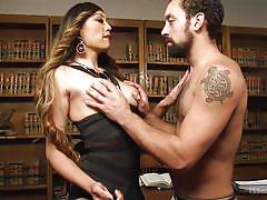 interracial, mistress, office, blowjob, asian ladyboy, choking, tranny big boobs, shemale domination, transsexual, ts seduction, kink, dj x, venus lux