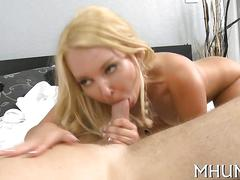 Dirty blonde milf gets humped by cougar lover levi cash