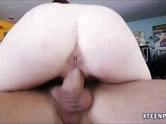 Emma stoned pussy pounded and creampied by horny dude