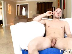 His tight ass stretched big cock video 1