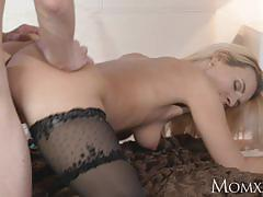 Blonde milf fucked from behind