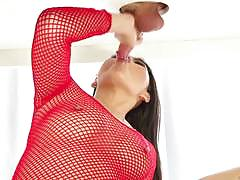 Asian hottie cindy starfall milks out every drop
