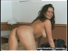 Cute teen first casting