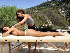 Abigail mac loves hot massage from remy lacroix