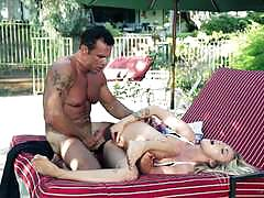 karla kush, blowjob, riding, cumshot, blonde, outdoors, cowgirl, 69, outside, sucking, licking pussy
