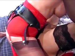 British domme pegs a crossdresser