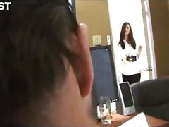 Lily carter office fuck