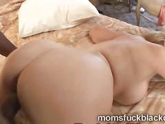 Young brotha bangs a big booty blonde milf kara knox