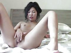 tattoo, solo, amateur, masturbation, teasing, asian babe, boob rubbing, camshow, me and my asian, the gf network