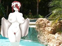 Hentai slide show 1- bare bathing