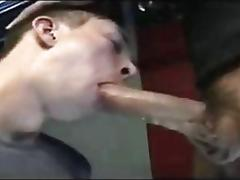 Boy suck big cock old man